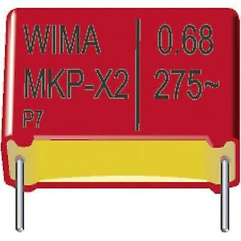 MKP-X2 suppression capacitor Radial lead 0.033 µF 275 Vac 20 % 10 mm (L x W x H) 13 x 5 x 11 mm Wima MKX21W23303F00KSSD