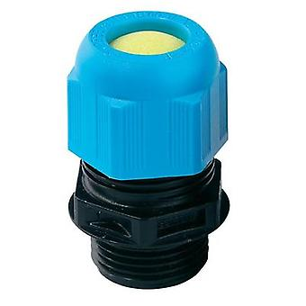 Cable gland ATEX M16 Polyamide Black (RAL 9005), Light blue (RAL 5012) Wiska ESKE-i 16 1 pc(s)