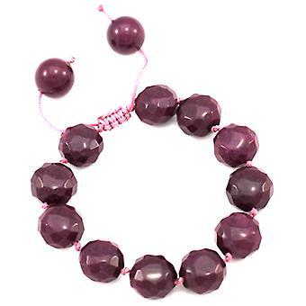 Lola Rose Phillis Bracelet Black Cherry Quartzite