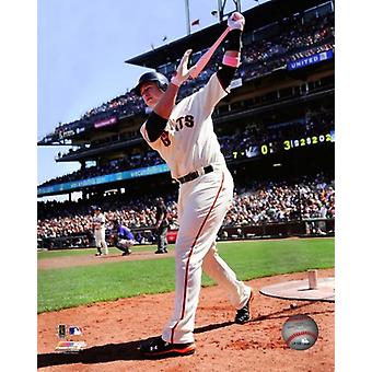 Buster Posey 2011 azione Photo Print (8 x 10)