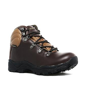 New Peter Storm Boy's Headley Waterproof Mid Walking Boots Grey