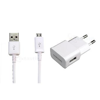 Samsung power supply ETA U90EWE white adapter, charging cable 1, 5 m Galaxy S3 S4 A5 note