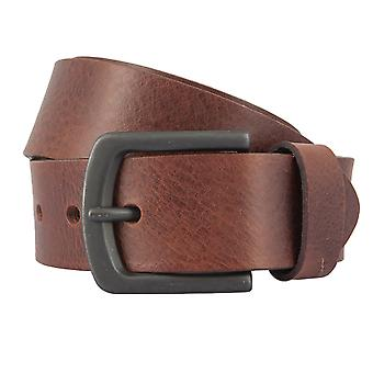BERND GÖTZ belts men's belts leather belt brown leather + Cutable 2355