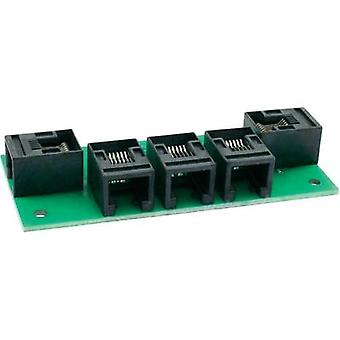 RJ12 4-way splitter Prefab component Train Modules 75124