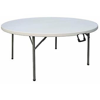 Restine Round Centre Folding Table 5Ft Diameter