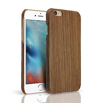 Celicious Authentik Apple iPhone 6s / iPhone 6 Natural madera Back Cover - nogal
