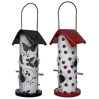 Contemporary Wild Bird Patterned Seed Feeder Gloucester