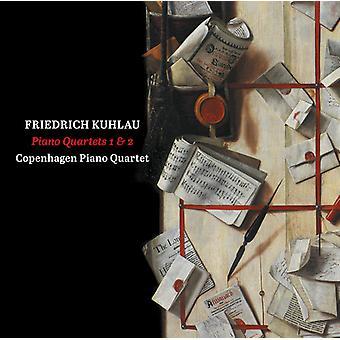 Kuhlau / Copenhagen klaver kvartetten - klaver kvartetter nr. 1 & 2 [SACD] USA import