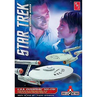AMT Model Kit - Star Trek USS Enterprise NCC 1701 - 1:650 & 1:1000 Scale AMT913