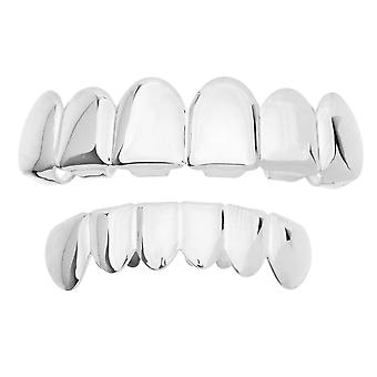 Grillz - silver - * one size fits all *-SET