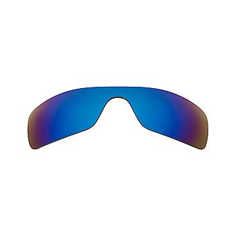 New SEEK Polarized Replacement Lenses for Oakley Sunglasses BATWOLF Blue Mirror