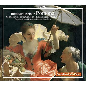 Keiser / Ihlenfeldt / Capella Orlandi Bremen - Pomona [CD] USA import