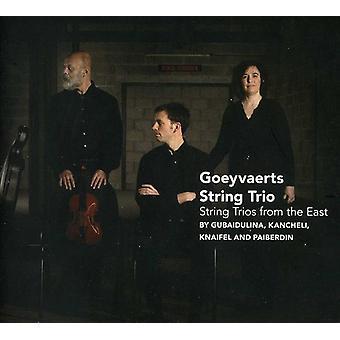 Goeyvaerts streng Trio - streng trioer fra øst [CD] USA import
