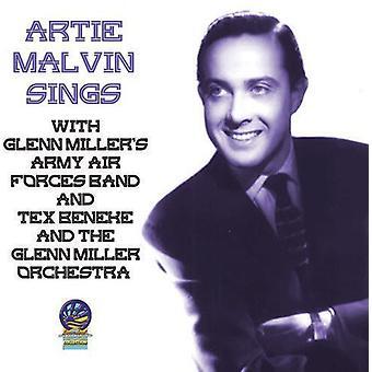 Artie Malvin - synger med Glenn Miller Orchestra & Army Air [CD] USA importen