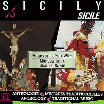 Forskellige kunstner - Sicilien: Musik til Påskeugen [CD] USA importen