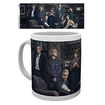 Sherlock Cast Mug