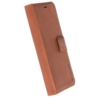 Sunne 5 card FolioCase Malmö bag sleeve for Samsung Galaxy S8 cover Brown