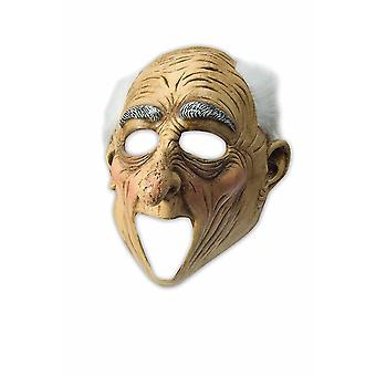Moving Mouth Deluxe Latex Maske Opa Alter Mann passt perfekt