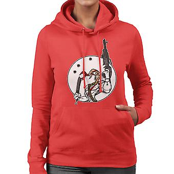 Battle Worm Earthworm Jim Women's Hooded Sweatshirt