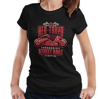 Neo Tokyo Street Racing Champion Akira Women's T-Shirt