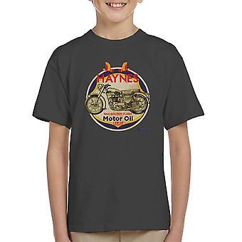 Haynes Marke Richfield BSA Motor Öl Kinder T-Shirt