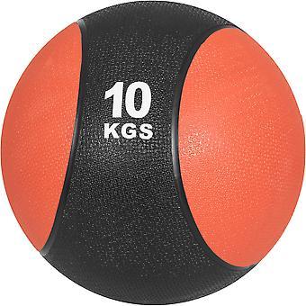 Medizinball aus Gummi 10 kg