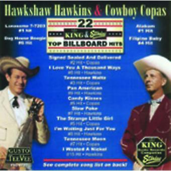Hawkshaw Hawkins - 22 King & Starday Top Billboard Hits [CD] USA importerer