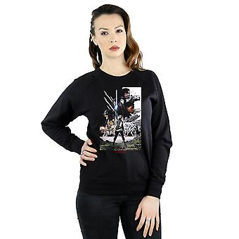 Star Wars Women's The Last Jedi Character Poster Sweatshirt
