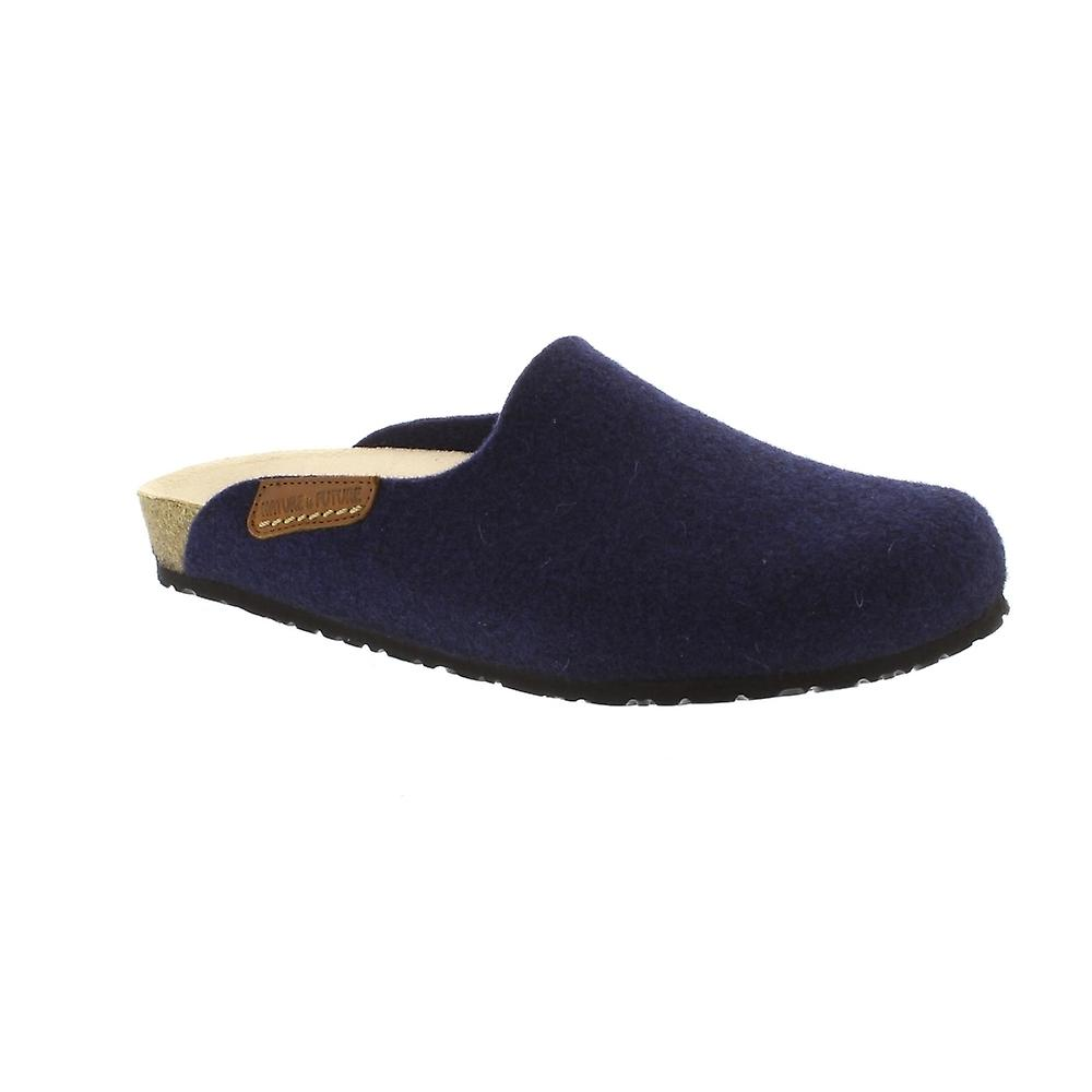 Mephisto Yin - Navy Sweety (Textile) Womens Slippers