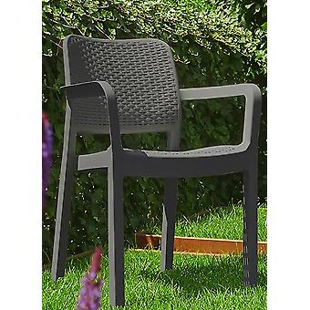Keter Samanna Graphite Chair