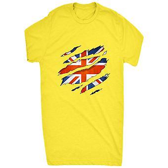 Renowned 0065 British flag ripped