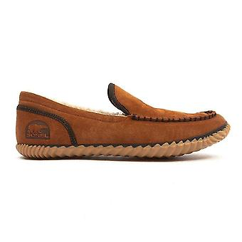 Men's Dude Moc Slippers - Grizzly Bear
