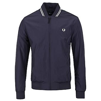 Fred Perry Navy Twin Tipped Bomber Jacket
