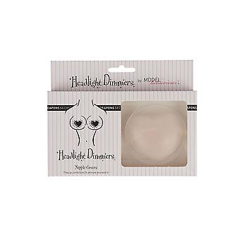 Secret Weapons SW-009 Women's Headlight Dimmers Pink Silicone Nipple Covers