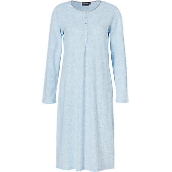 Pastunette 1072-322-4-103 Women's Luxe Snow White Floral Nightdress