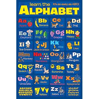 Learn the Alphabet Poster Poster Print