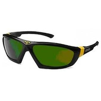 Uvex 9185-043 Athletic Green Shade 3 Infradur Plus Safety Spectacles