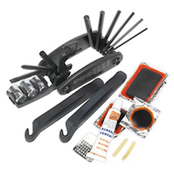 Sealey Bc210 Folding Multi-Tool And Puncture Repair Kit - Bicycle
