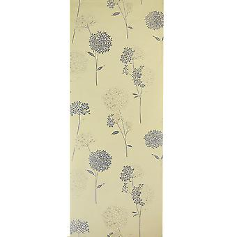 Dulux Easy Hang Patterned Feature Wallpaper - Anabelle Floral Green Tea - 31-302