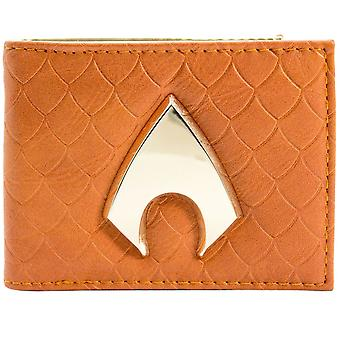 DC Comics Aquaman Atlantis Emblem ID & Card Bi-Fold Wallet