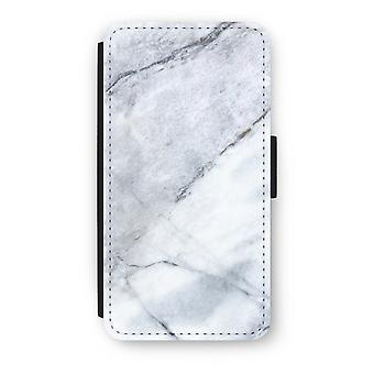 iPod Touch 6 Flip fodral - marmor vit