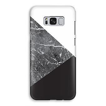 Samsung Galaxy S8 Full ut fallet - marmor kombination