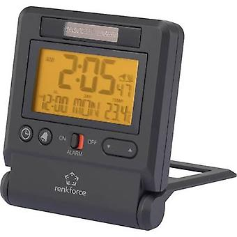 Renkforce C8412 Radio Alarm clock Anthracite Alarm times 1