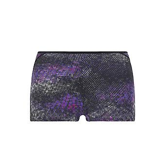 Guy de France 3133-181-018 Women's Purple Spotted Knicker Shorties Boyshort