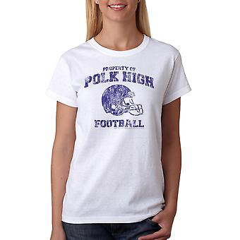 Married With Children Polk High Sports Women's White T-shirt NEW Sizes S-2XL