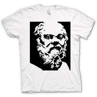 Womens T-shirt - Socrates - Stencil Icon