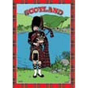 Scotland Piper Tea Towel