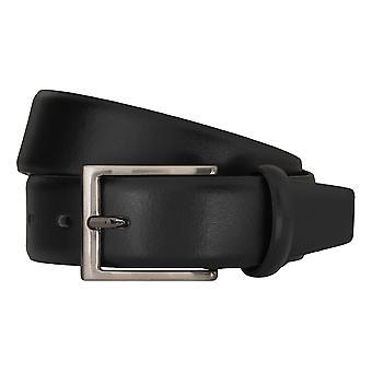 Cinturones de cuero Correa Negro Bugatti cinturones hombre 5150