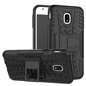 Hybrid case 2 piece SWL outdoor black for Samsung Galaxy J7 J730F 2017