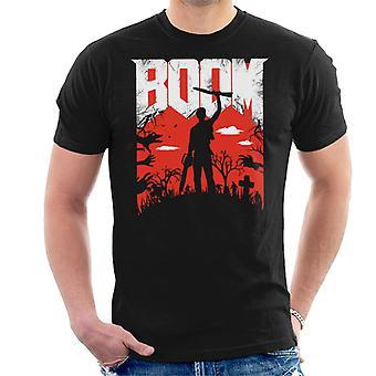 BoomStick Ash Vs Evil Dead Men's T-Shirt